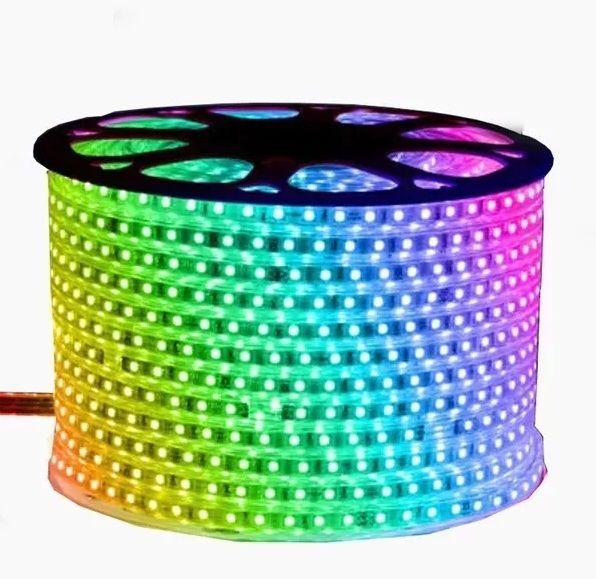 Fita LED 7,2W SMD5050 IP67 LED 127V RGB 1M
