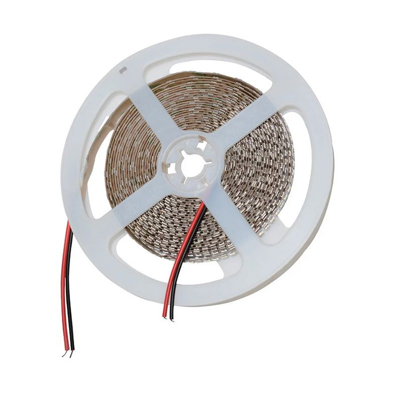 Fita LED SMD2835 IP20 12V 240Leds/m Branco Frio 6500K Rolo 5M
