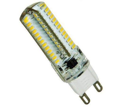 LAMPADA HALOPIN LED 5W G9 BIVOLT - BRANCO QUENTE 3000K