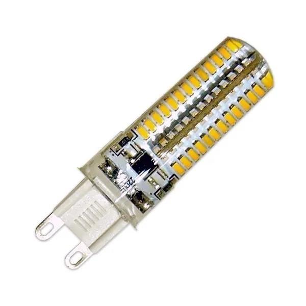 LAMPADA HALOPIN LED 7W G9 110v - BRANCO QUENTE 3000K