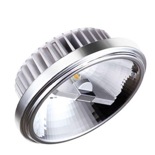 Lâmpada LED AR111 12w COB Driver Bivolt Branco Quente 3000K