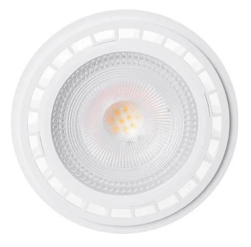 Lâmpada LED AR111 12w GU10 Bivolt Branco Quente 3000K