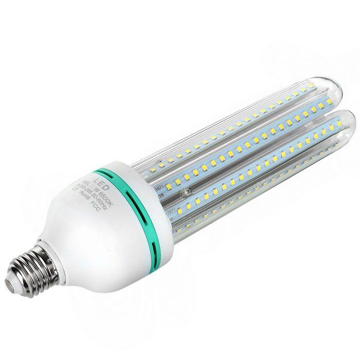 LAMPADA LED COMPACTA 3U 9W E27 BIVOLT - BRANCO FRIO 6000K