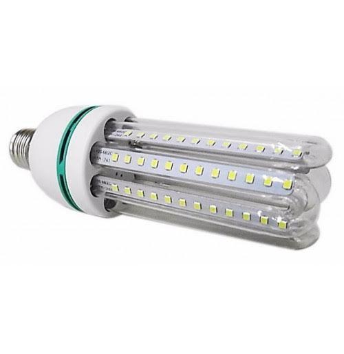 LAMPADA LED COMPACTA 4U 30W E27 BIVOLT - BRANCO FRIO 6000K