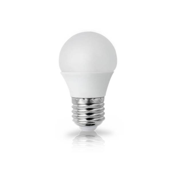 Lâmpada LED Mini Bolinha G45 4.8W E27 Bivolt Branco Frio 6500K