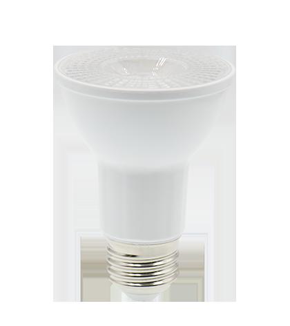 LAMPADA LED PAR20 6,5W COB E27 BIVOLT - BRANCO QUENTE 3000K