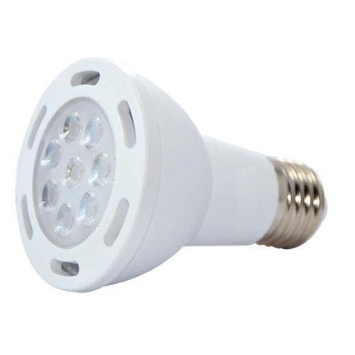 LAMPADA LED PAR20 7W SMD E27 BIVOLT - BRANCO QUENTE 3000K