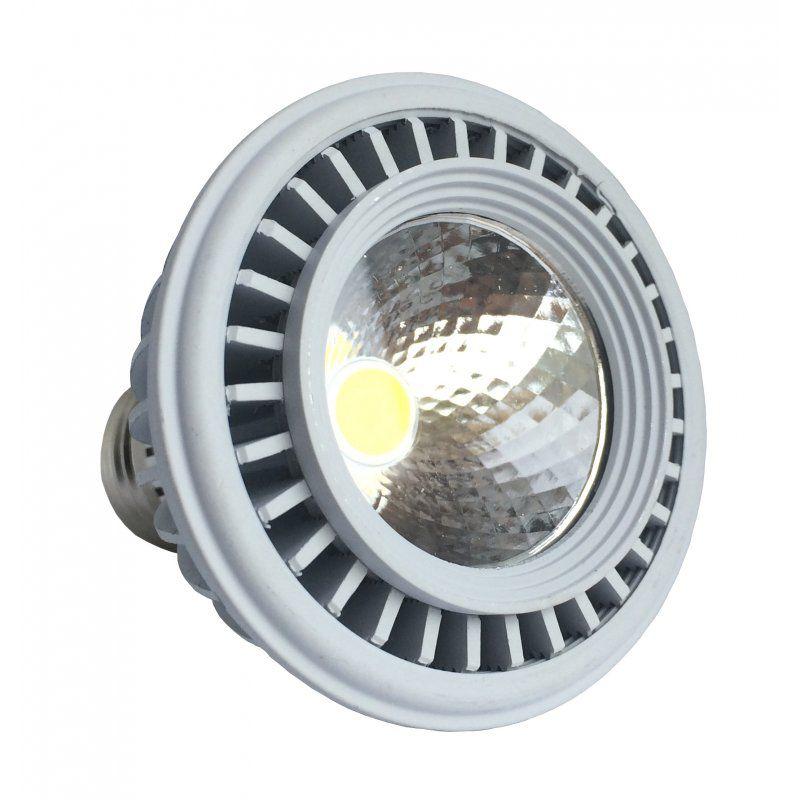 Lâmpada LED PAR30 12W COB E27 Bivolt Branco Frio 6500K