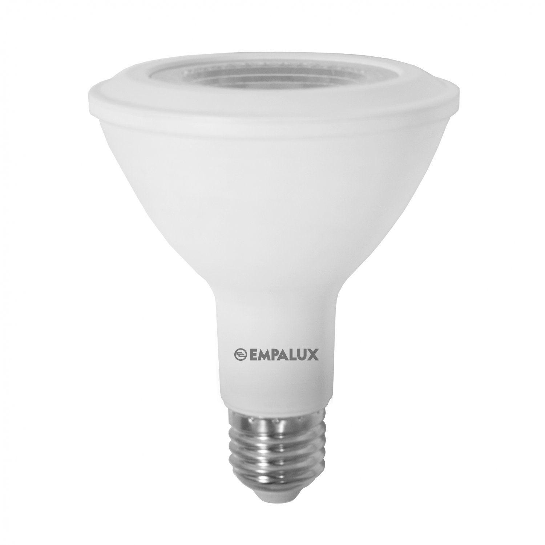 Lâmpada LED PAR30 12W COB E27 Bivolt Branco Quente 3000K