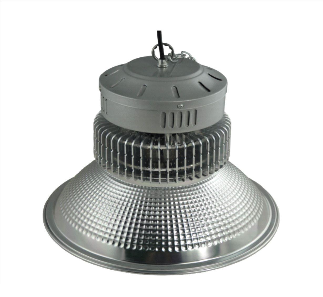 Luminária Industrial High Bay 100W SMD BIVOLT - BRANCO FRIO 6500K