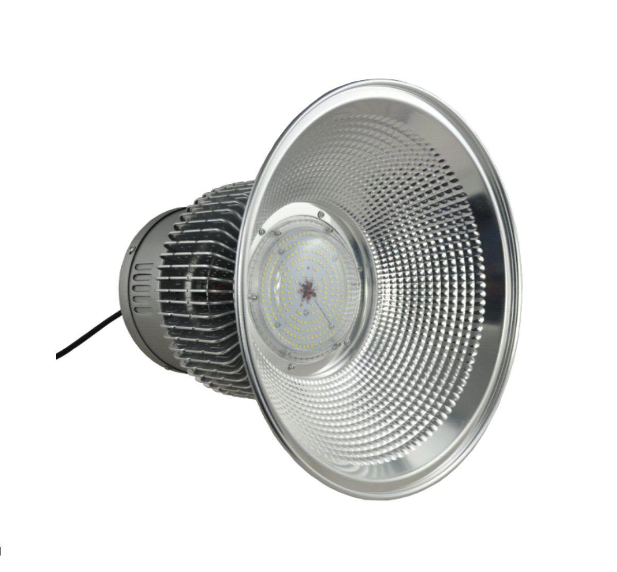 Luminária Industrial High Bay 150W SMD BIVOLT - BRANCO FRIO 6500K PEÇA UNICA