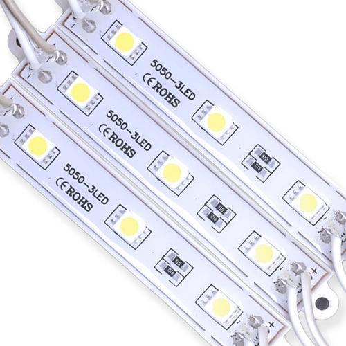 Modulo de LED SMD5050 3 LEDS 0,72W IP65 12V - AZUL