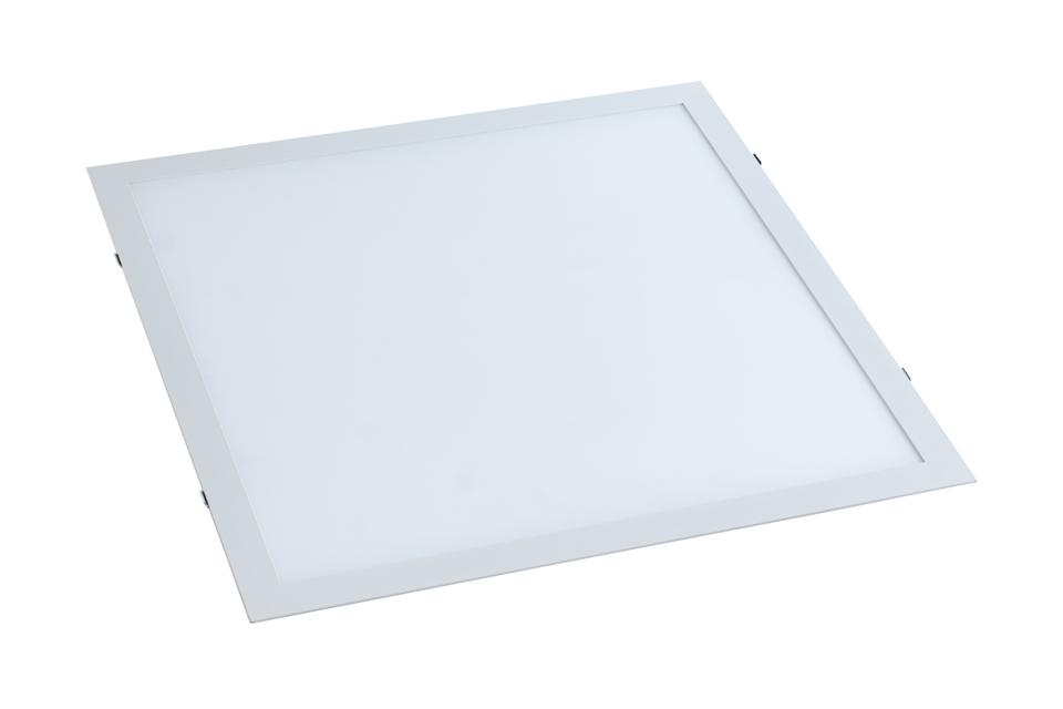 Painel LED Embutir 25W 30X30CM Quadrado Bivolt - Branco Quente 3000K