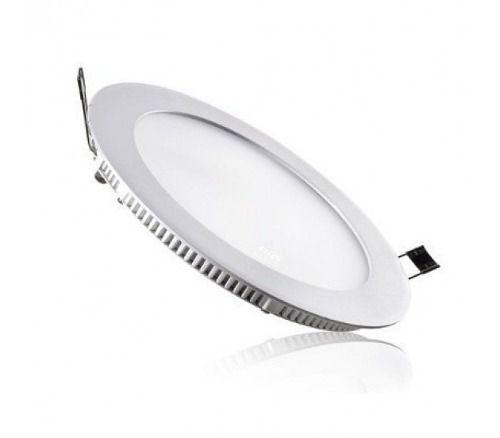 Painel LED Embutir 24W ∅ 30CM Redondo Bivolt Branco Frio 6000K