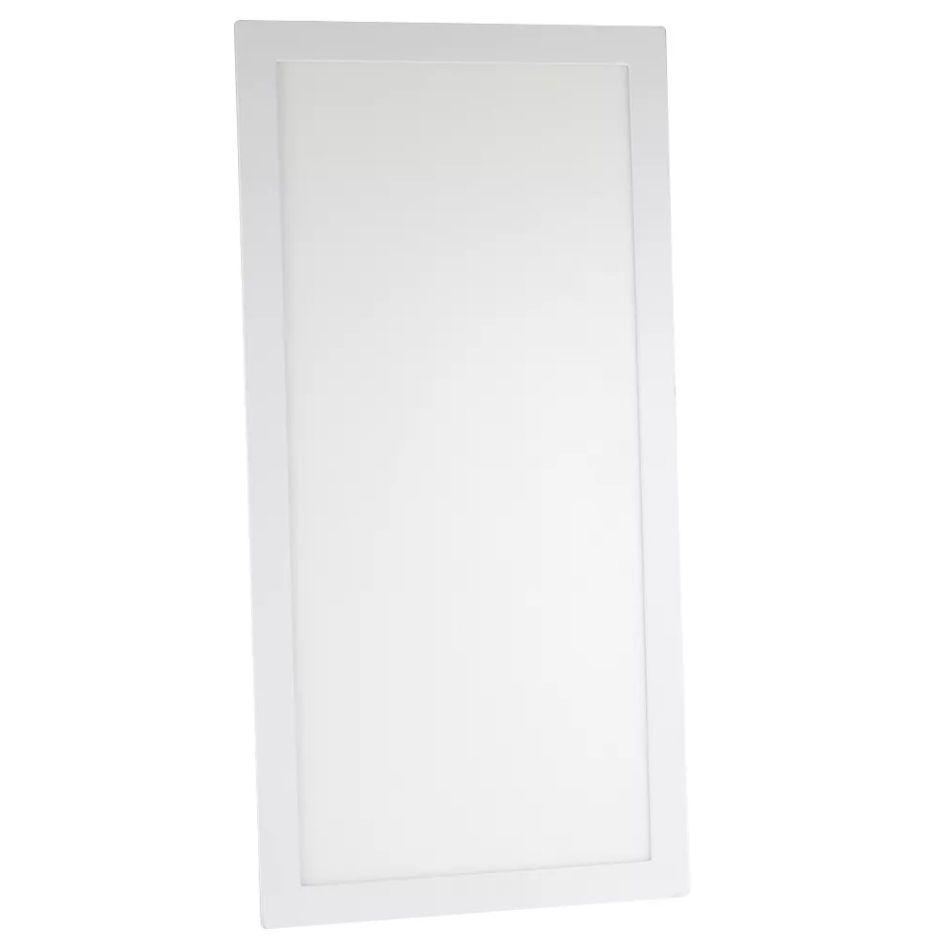Painel LED Embutir Modular 48W 32X122CM Retangular Bivolt - Branco Frio 6000K