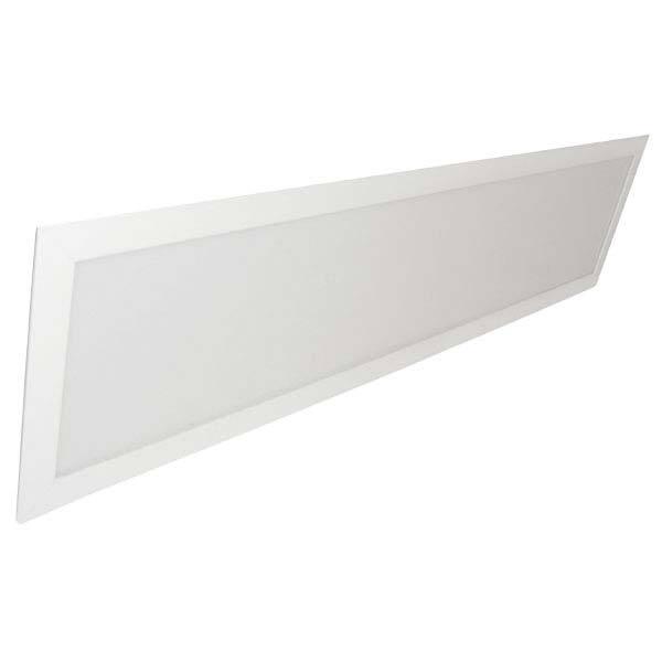 Painel LED Embutir Modular 45W 32X122CM Retangular Bivolt - Branco Quente 3000K