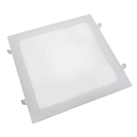Painel LED Embutir Modular 45W 62X62CM Quadrado Bivolt - Branco Quente 3000K