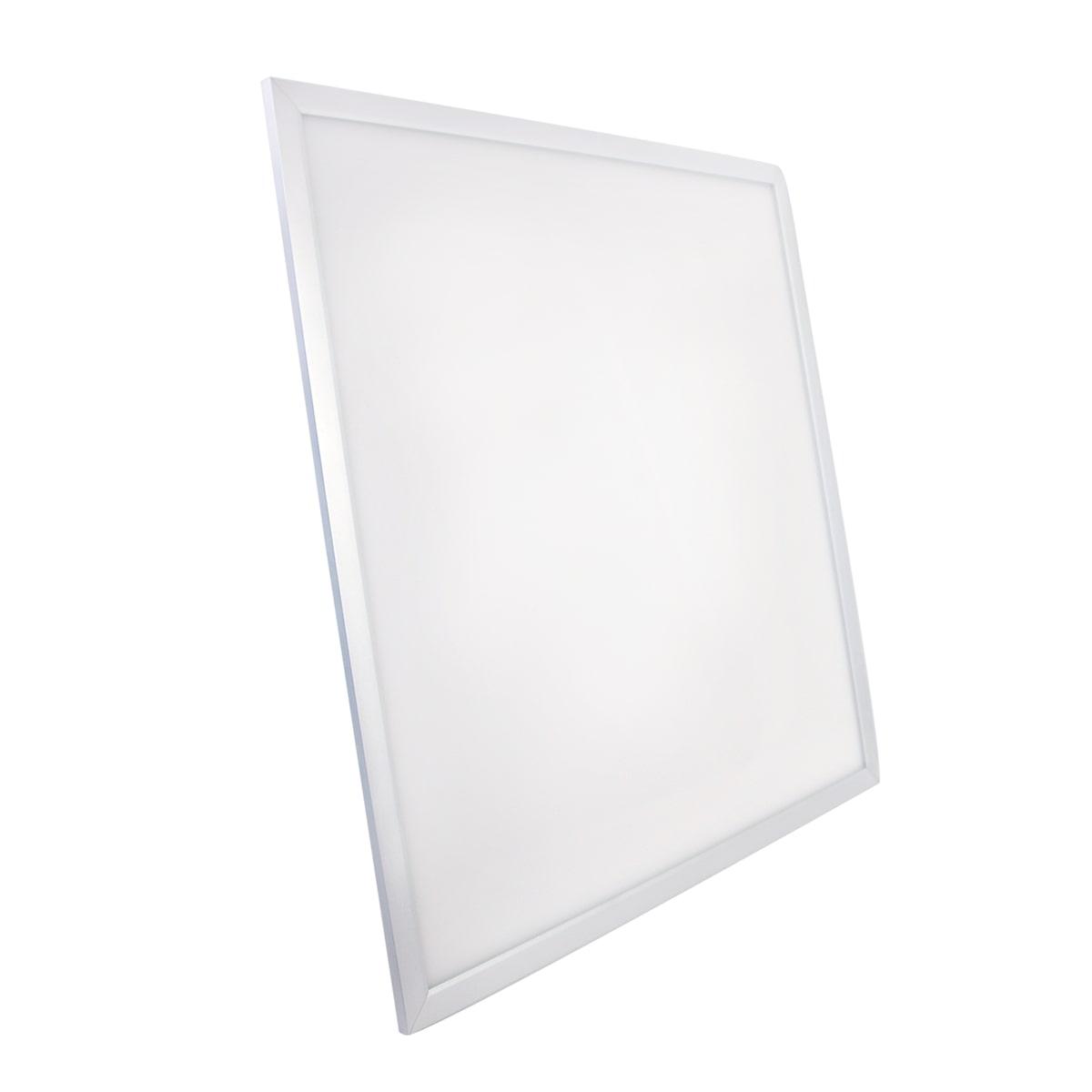 Painel LED Embutir Modular 48W 62X62CM Quadrado Bivolt - Branco Frio 6500K PEÇA ÚNICA