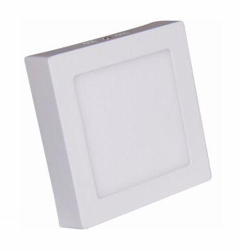 Painel LED Sobrepor 25W 30X30CM Quadrado Bivolt - Branco Quente 3000K
