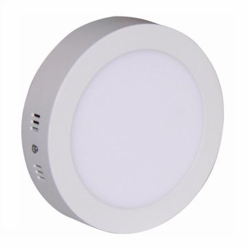 Painel LED Sobrepor 25W ∅ 30CM Redondo Bivolt - Branco Frio 6000K