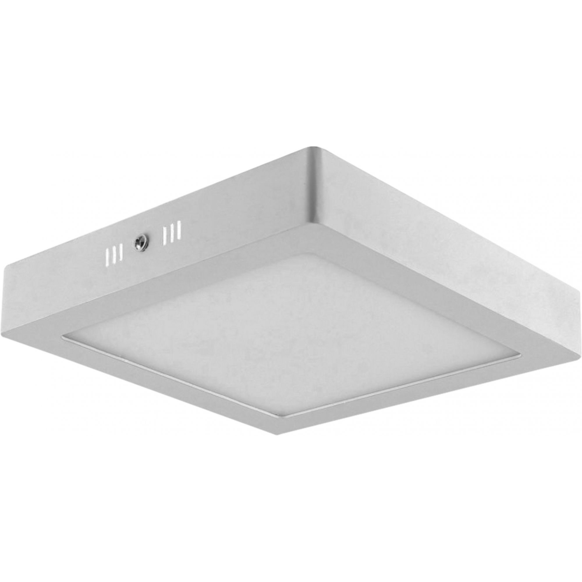 Painel LED Sobrepor Dimerizável 25W 30X30CM Quadrado 110V  - Branco Neutro 4000K