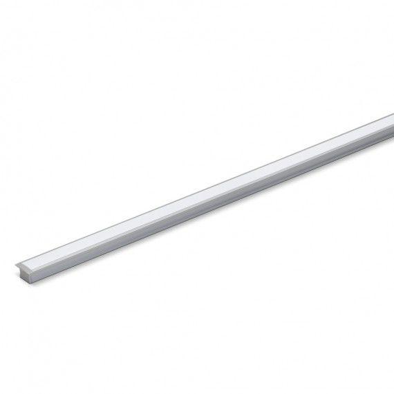 Perfil Embutir Para Fita LED Barra 2 Metros