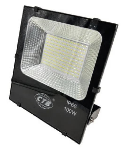 Refletor LED 100W Real IP66 SMD Bivolt Branco Quente 3000K
