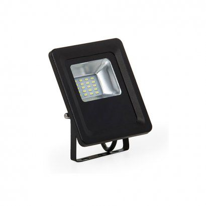 REFLETOR LED 10W REAL IP66 SMD BIVOLT - BRANCO QUENTE 3000K