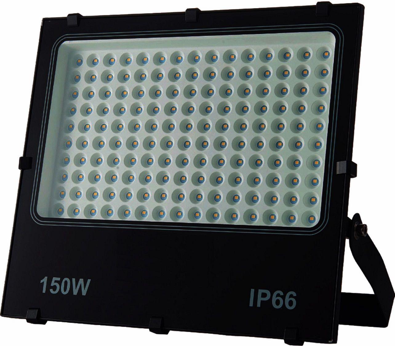 Refletor LED 150W Potencia Real IP66 Bivolt Branco Frio 6500K