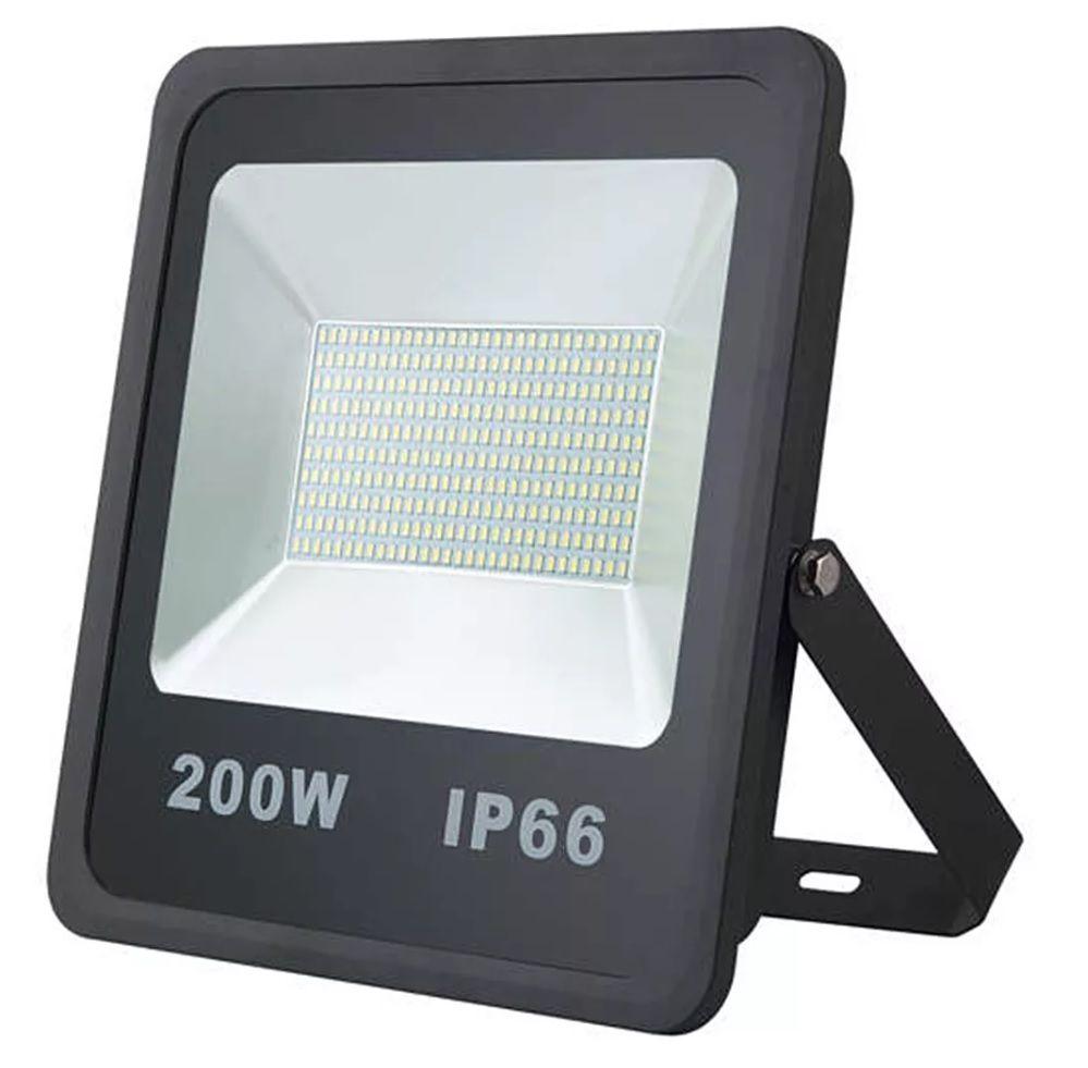 Refletor LED 200W Real IP66 SMD Bivolt Branco Frio 6000K