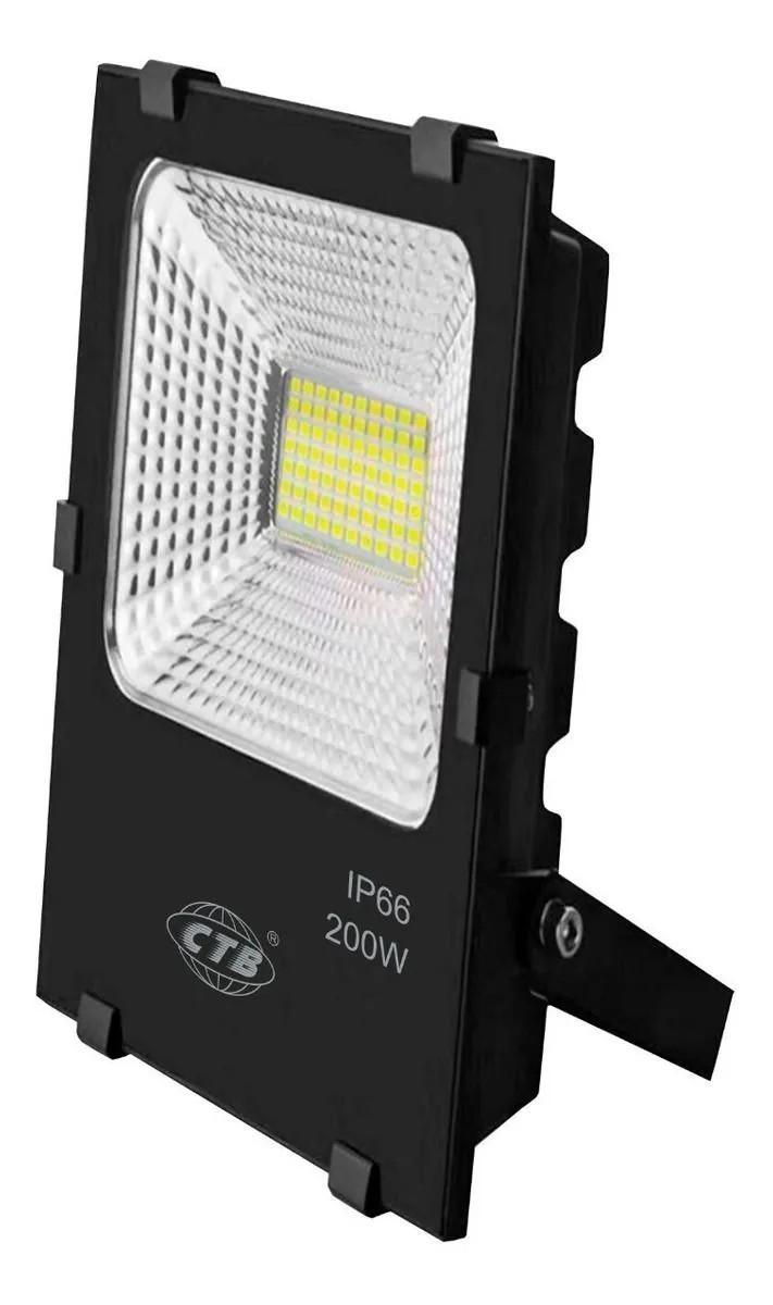 Refletor LED 200W Real IP66 SMD Bivolt Branco Frio 6500K