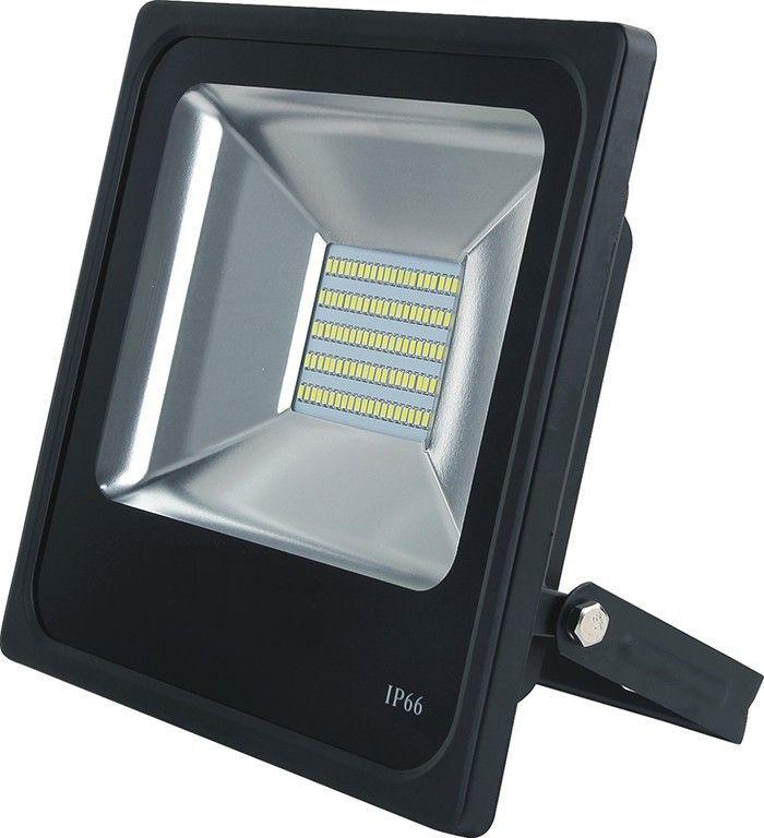 REFLETOR LED 50W REAL IP66 SMD BIVOLT - BRANCO QUENTE 3000K