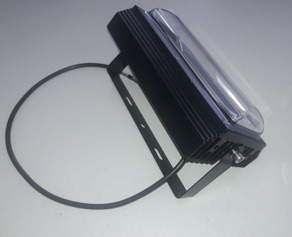 Refletor LED 50W IP67 COB 105lm/w Bivolt Branco Frio 6500K