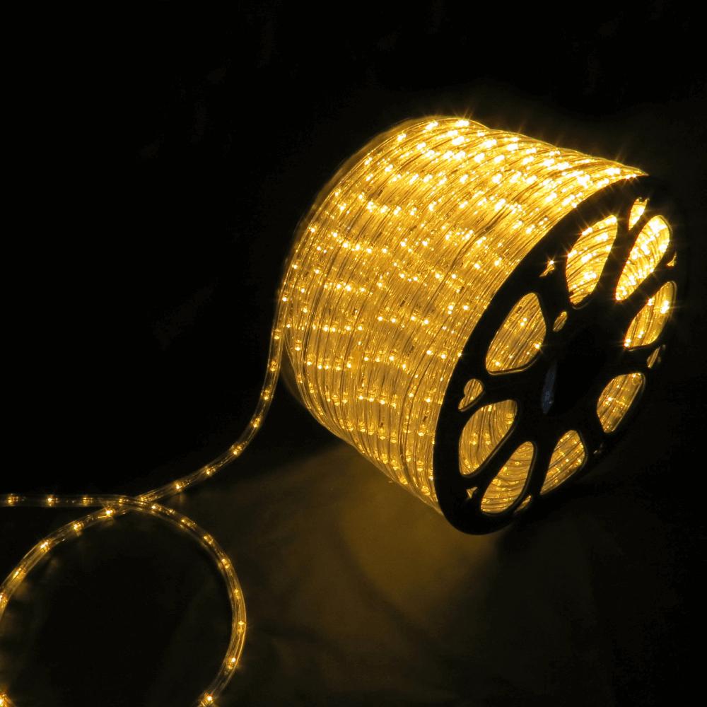 Rolo mangueira LED  IP67  127V Branco Quente 3000K 100M