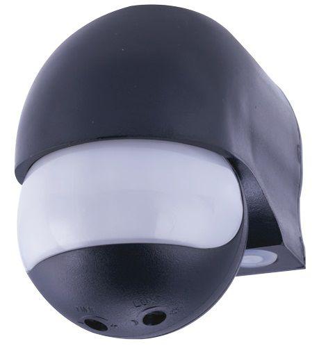 Sensor de Presença Externo Parede 12M Com Fotocélula Bivolt