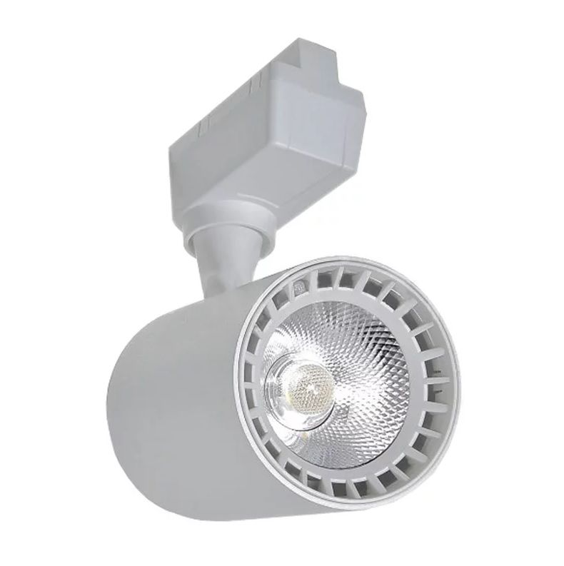 Spot LED Trilho 10W Branco Bivolt Branco Neutro 4000K