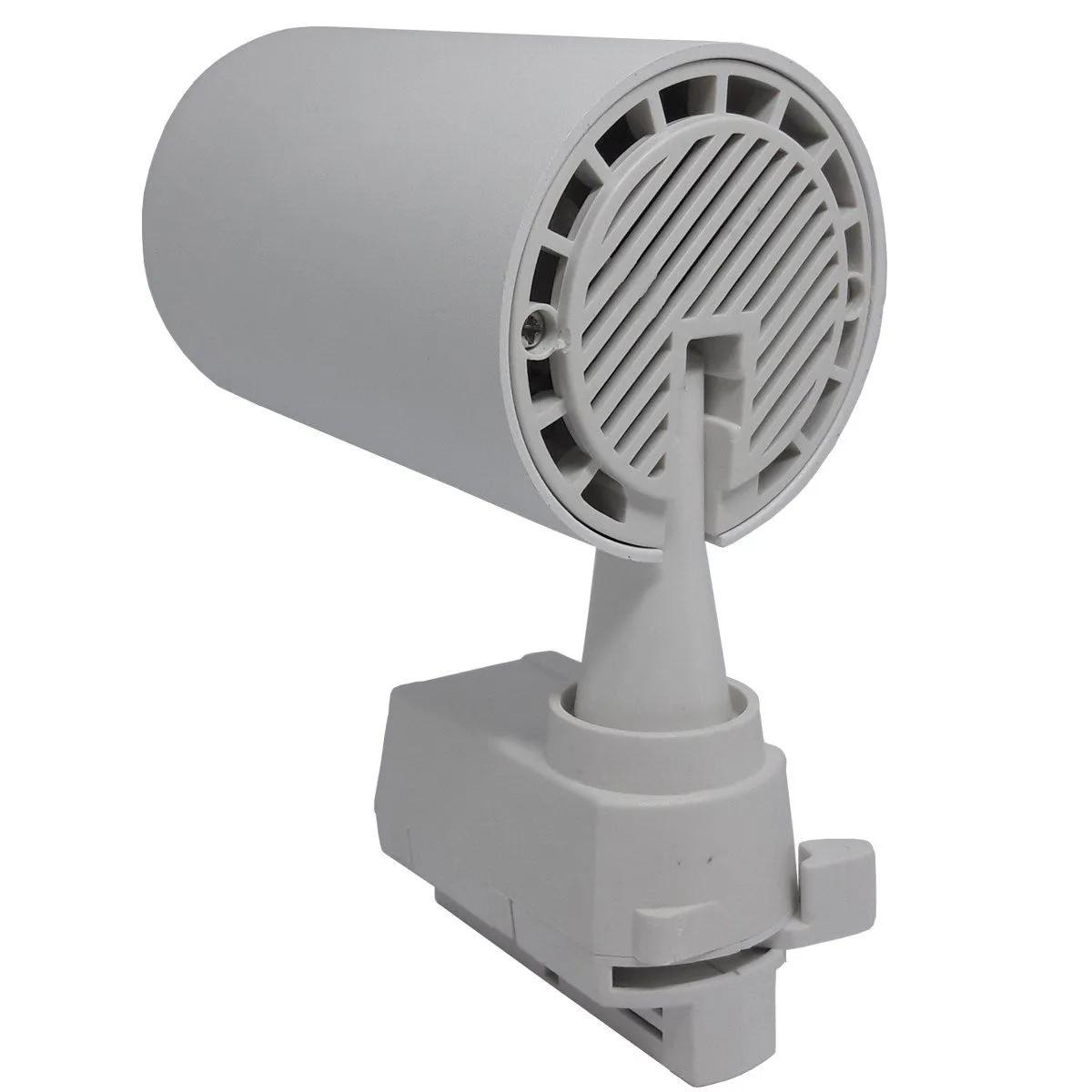 Spot LED Trilho 12W Branco Bivolt Branco Quente 3000K