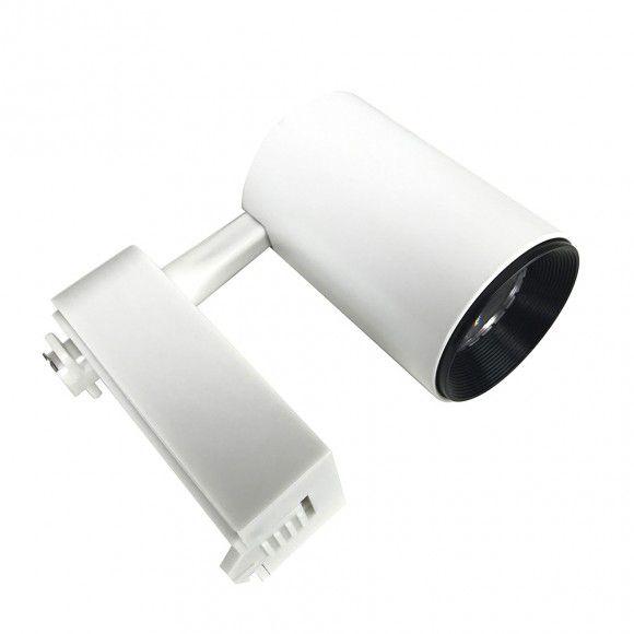 Spot LED Trilho 7W Branco Bivolt Branco Quente 3000K