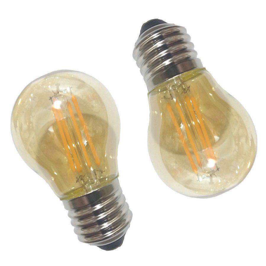 Varal de lâmpadas  - 5 Metros  - 10 bocais + 10 lampadas filamento G45