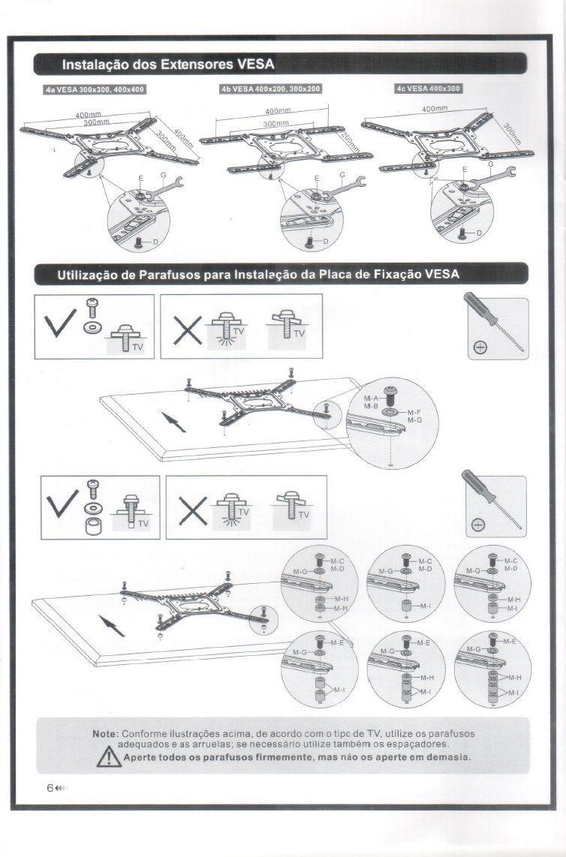 Extensor/Adaptador VESA FT-201F FIXATEK