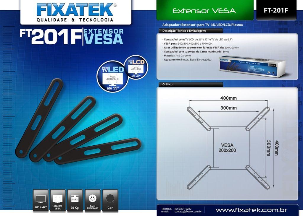 Extensor / Adaptador VESA FT-201F FIXATEK