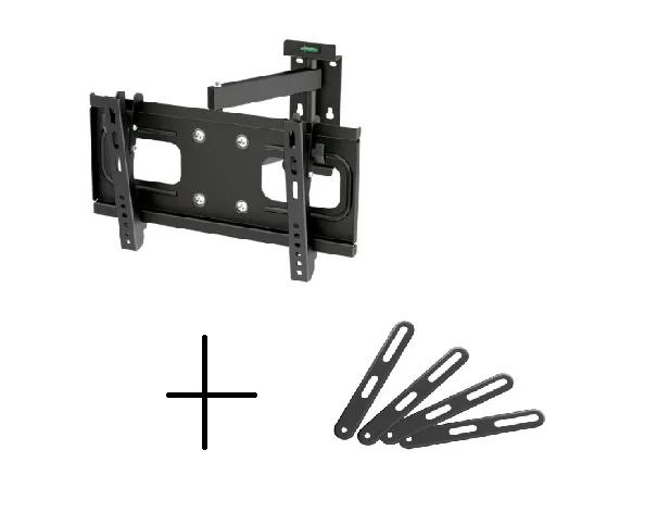 Suporte de TV LCD / LED Articulado FT-924 + Extensor/Adaptador VESA FT-201F FIXATEK