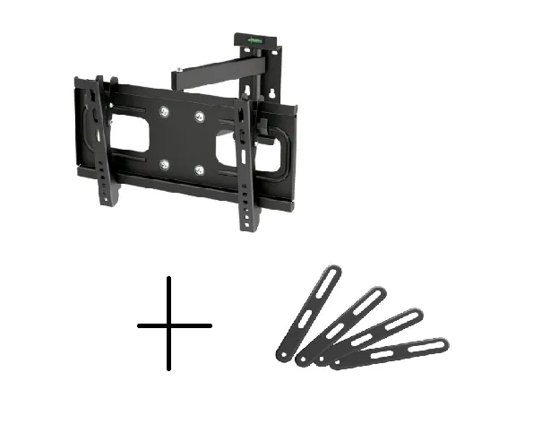 Suporte de TV LCD / LED Articulado FT-924 + Extensor/Adaptador VESA FT-201F FIXATEK
