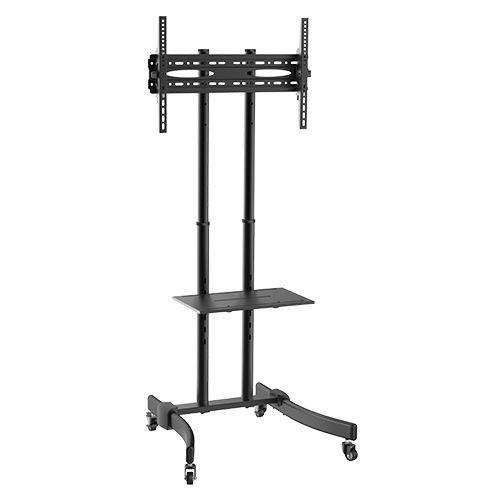 """Suporte Pedestal com rodas e travas para TV LCD / LED, Para tela de 37""""-75"""" FT-64EB - FIXATEK"""