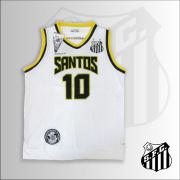 CAMISETA REGATA SANTOS FC BASQUETE BRANCA