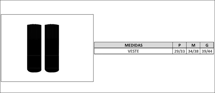 MEIA BLACK SKULL CANO MEDIO MASCULINA PRETA C/ 2 PARES
