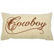 Almofada Bege Cowboy Grande