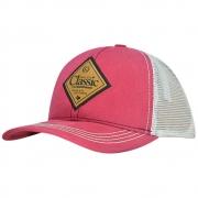 Boné Feminino Classic Pink e Bege Texas, EUA