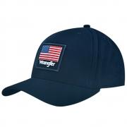 Boné Wrangler Bandeira USA Azul Marinho