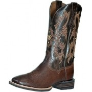 Bota Ariat Tombstone Smooth Couro De Avestruz
